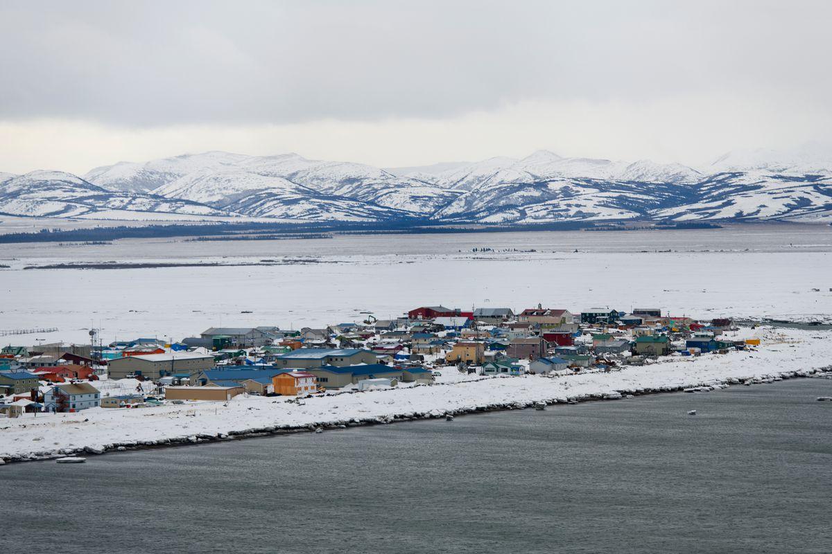 Unalakleet, Alaska, March 9, 2019. (Marc Lester / ADN)