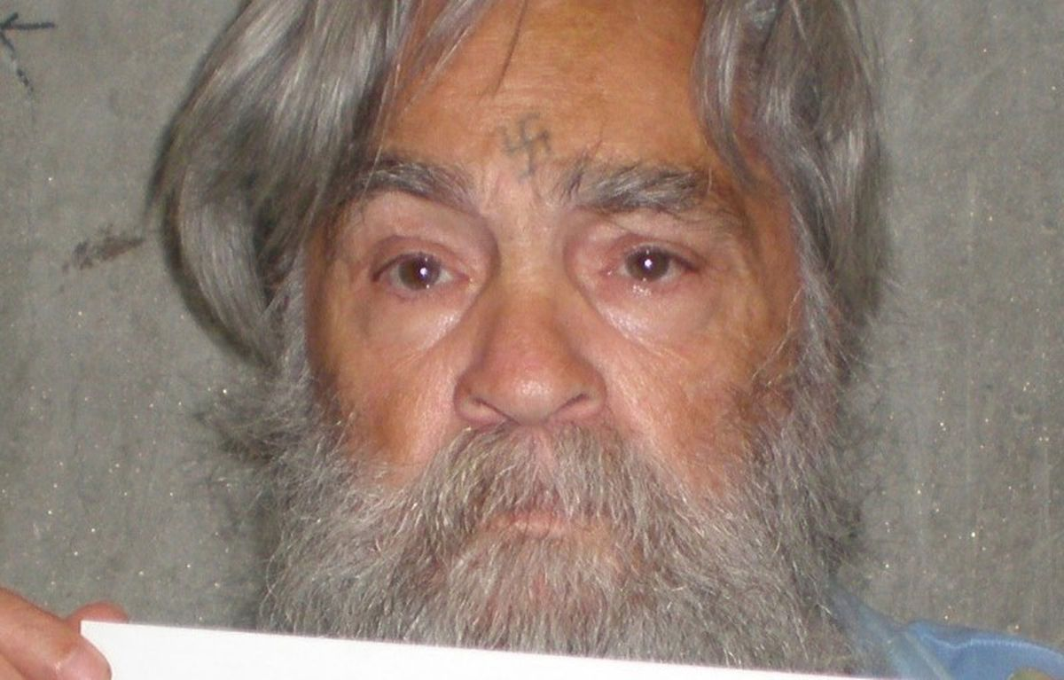 Charles Manson is pictured in this July 16, 2011 handout photo from the California Department of Corrections.