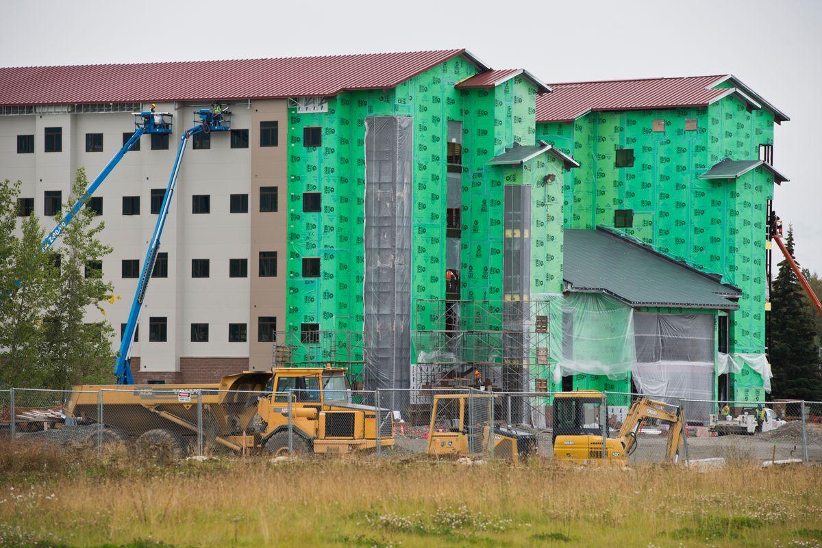 New barracks at JBER big step up from old Alaska ...