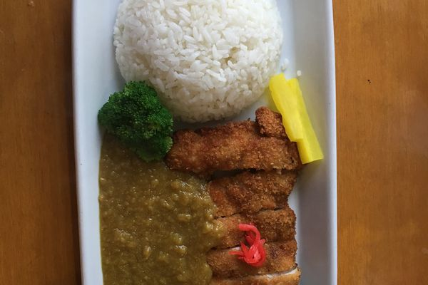 Chicken curry katsu at Ramen House by Saijo in Anchorage. (Photo by Mara Severin)