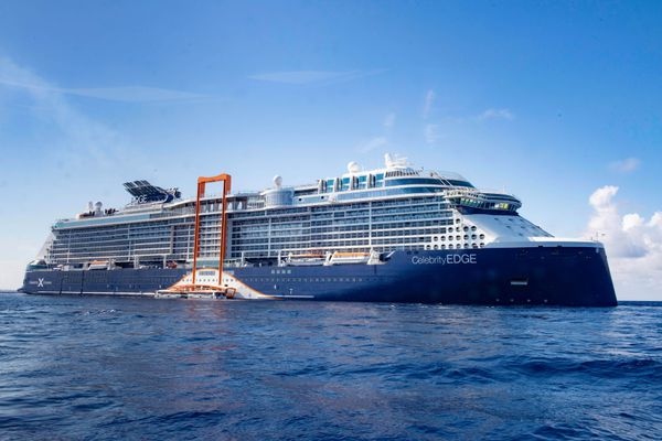 The ship that will have an all-female bridge and officer team, the Celebrity Edge. MUST CREDIT: Celebrity Cruises.