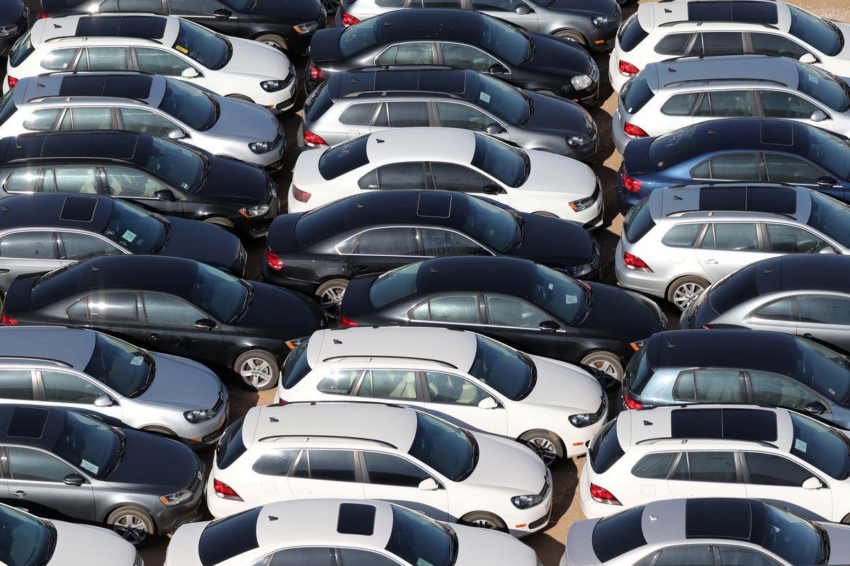 Volkswagen Diesel Buyback >> What a massive car buyback looks like: Volkswagen's billion-dollar diesel graveyard in ...