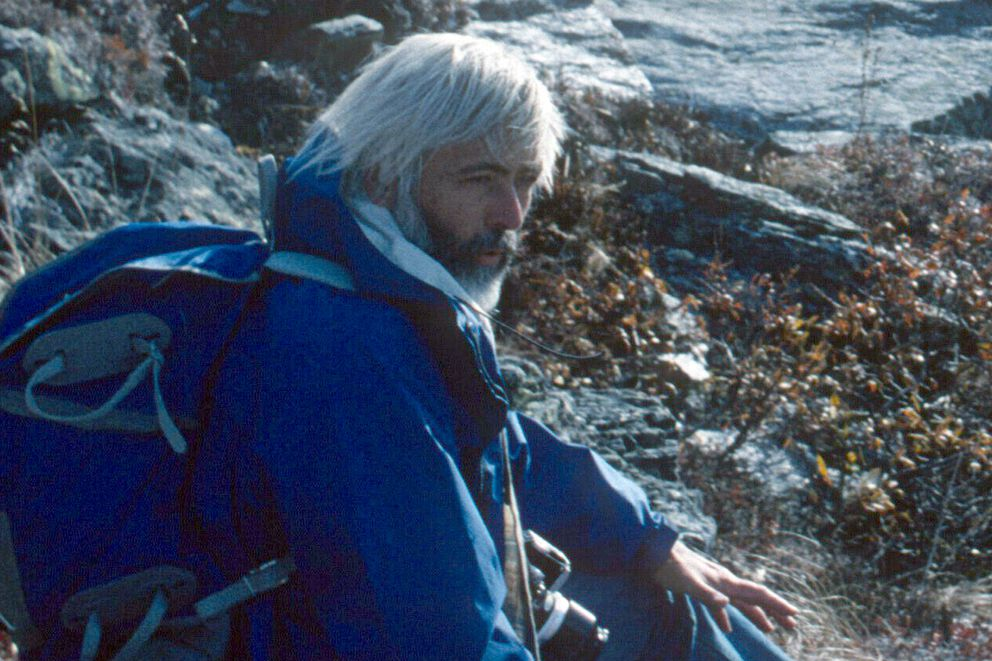 Paul Pesika in Denali National Park, circa mid-1980s. (Photo by Roy Corral)