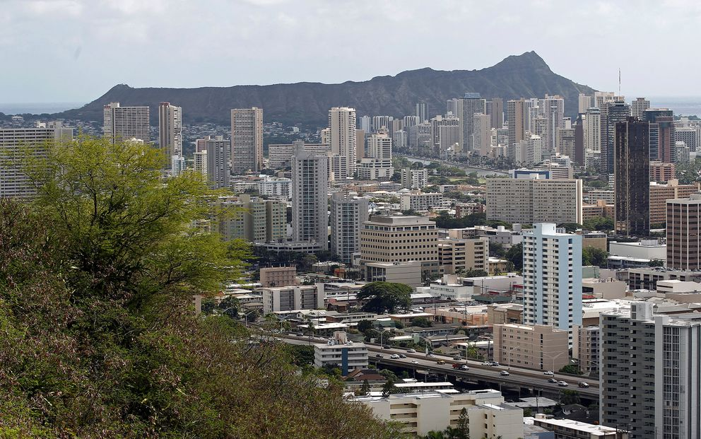A view of Honolulu, from the National Memorial Cemetery of the Pacific, in 2011. REUTERS/Chris Wattie/File