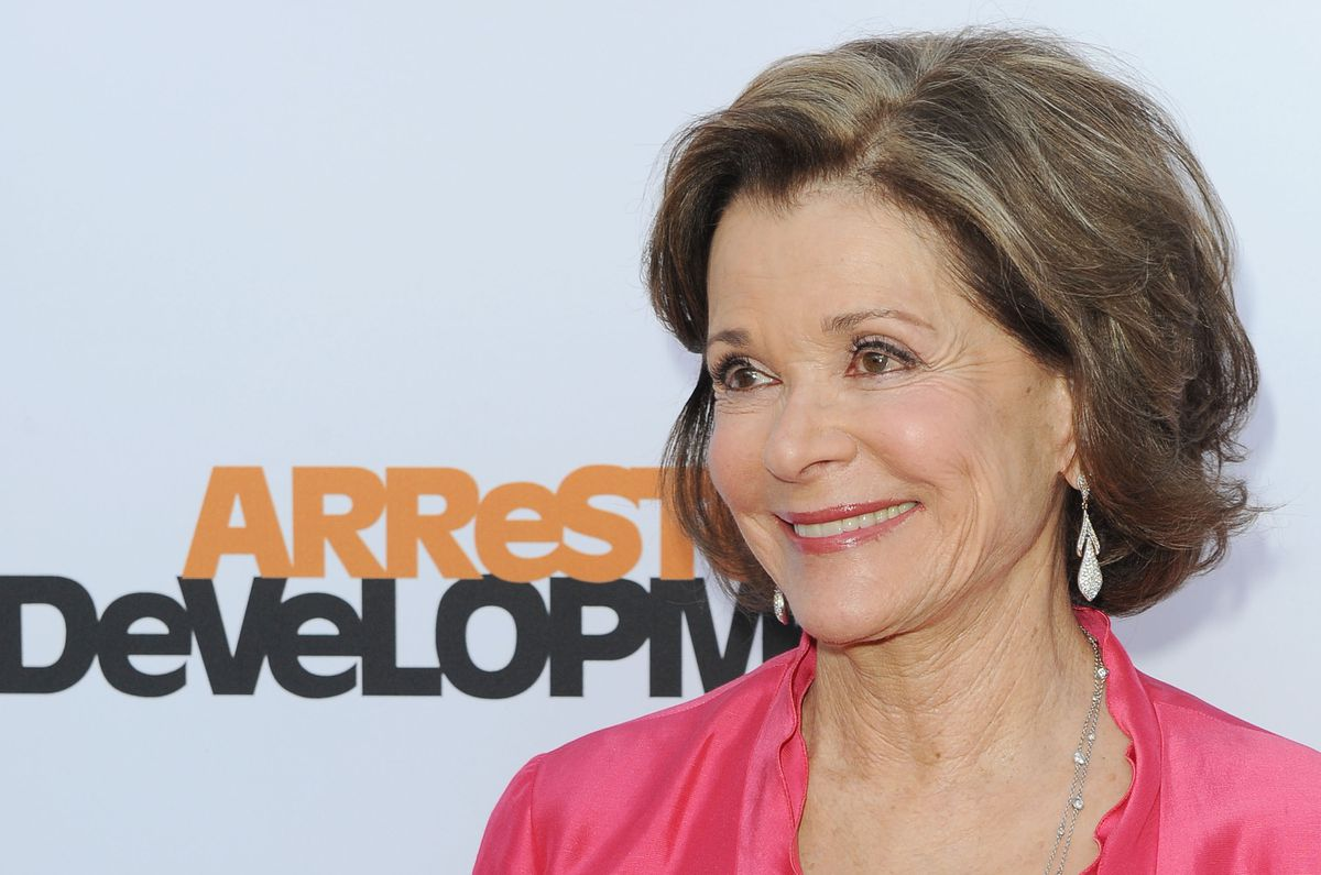 Jessica Walter arrives at the season 4 premiere of