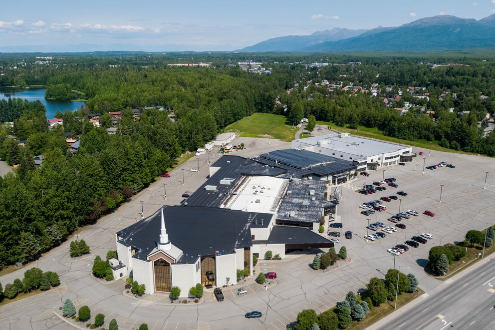 The Anchorage Baptist Temple and Anchorage Christian Schools on Wednesday, July 1, 2020. (Loren Holmes / ADN)