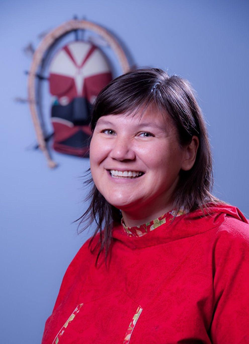 Alaska Pacific University President Valerie Nurr'araaluk Davidson is the school's first woman president.