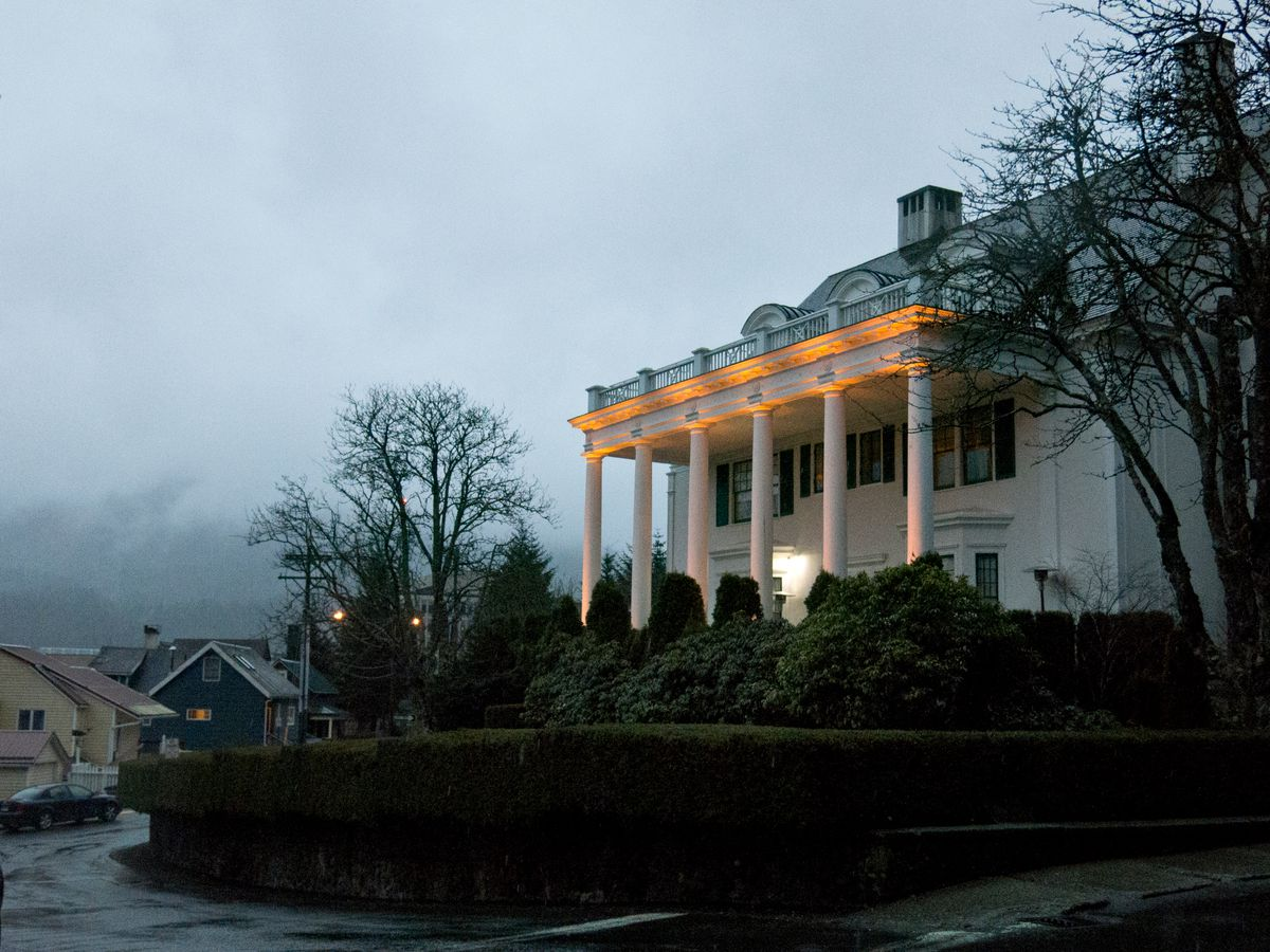 The Governor's Mansion in Juneau on Thursday, April 16, 2015. (Marc Lester / ADN)