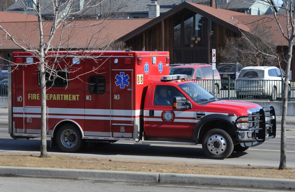 The Anchorage Fire Department will be adding two more ambulances to help meet the ever-rising demand for emergency medical responses. Medic 86, a basic life support medic rig will be at Station 6 in Muldoon and Medic 84, also a basic life support ambulance will be at Station 4 in Midtown when staffing changes take effect in early April. (Bill Roth / ADN)