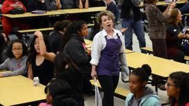 Watch: Opera flash mob delights Clark Middle School students