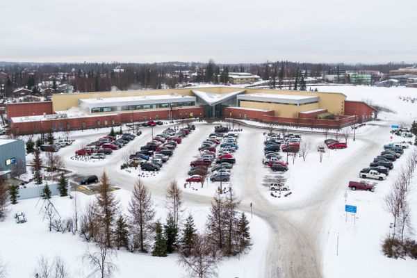 The Alaska Psychiatric Institute, photographed Wednesday, Jan. 30, 2019. (Loren Holmes / ADN)