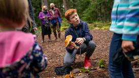 Meet Gabriel Wingard, a 14-year-old forager who wants to share his love of Alaska's fungi