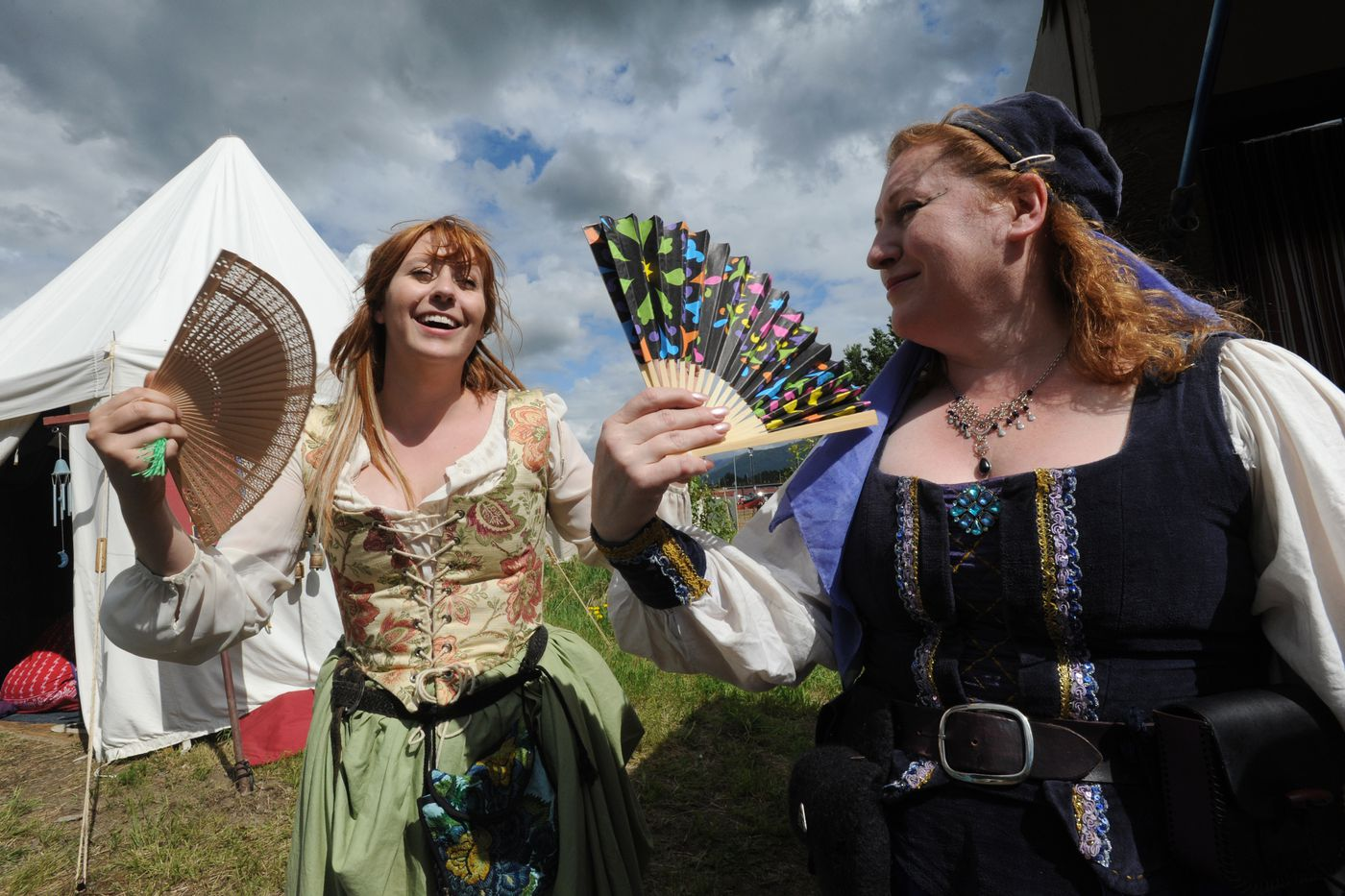 3 Barons Renaissance Fair at Tozier Track in Anchorage on Sunday, June 7, 2015.