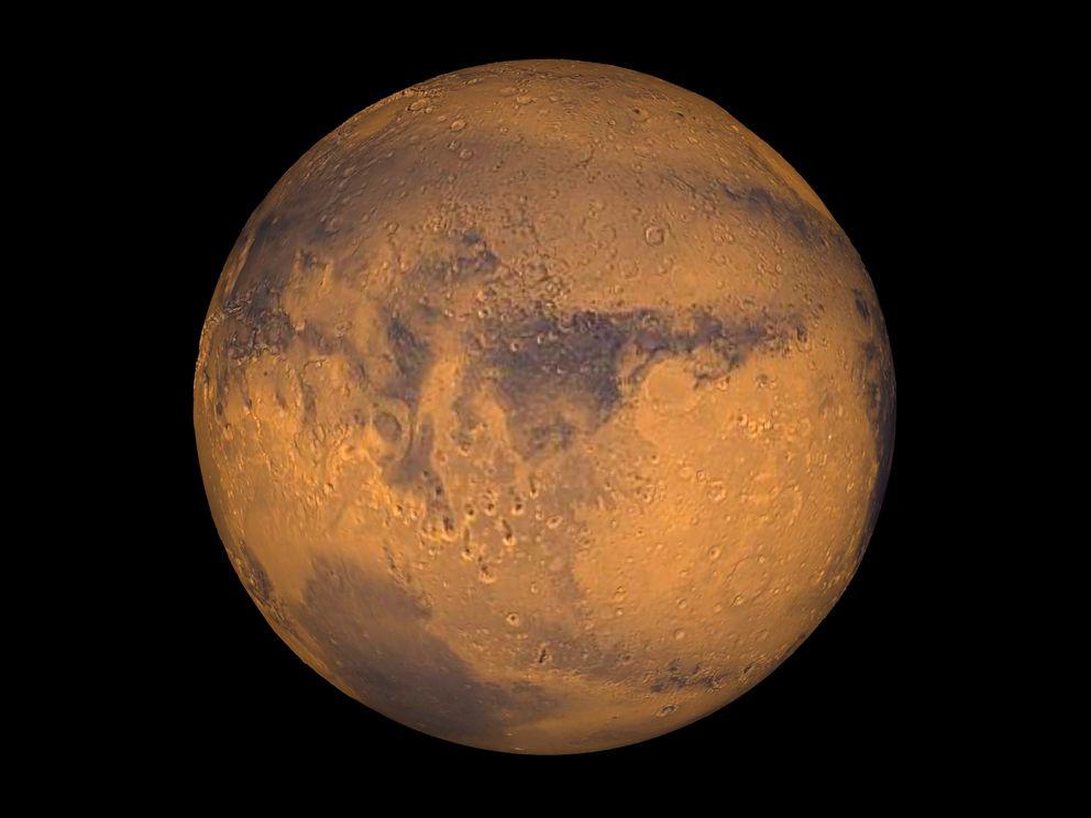 Mars showing Terra Meridiani. REUTERS/NASA/Greg Shirah/Handout