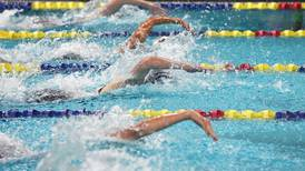 Thrilling finish in 500-yard freestyle race at West High highlights a night of high school swimming