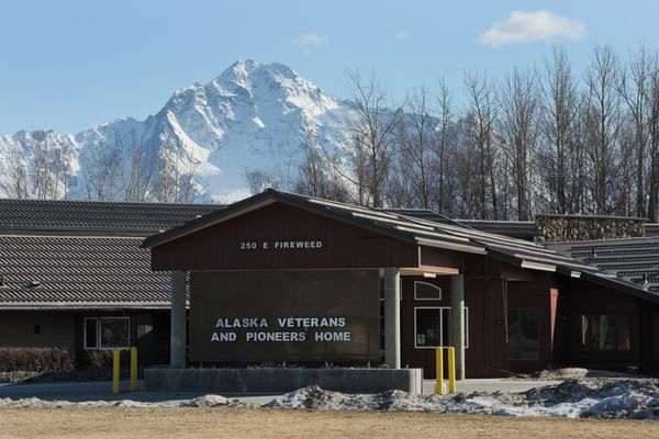 The Alaska Veterans and Pioneers Home in Palmer, Alaska on Tuesday, April 11, 2017, is a target in the political budget battle. (Bill Roth / Alaska Dispatch News)