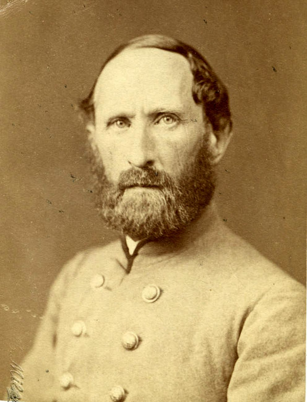 Virginia Military Institute surgeon Robert L. Madison in 1870. Madison was James Madison's favorite nephew, and had lived for a time in the White House when his uncle was president. (Virginia Military Institute Archives)