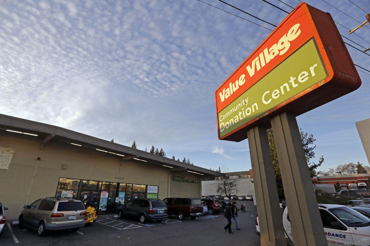 A Value Village store in Edmonds, Wash. (AP Photo/Elaine Thompson)