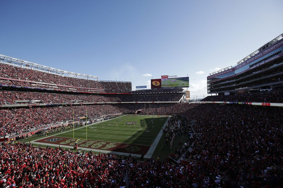 Levi's Stadium in Santa Clara, Calif. (AP Photo/Jeff Chiu)