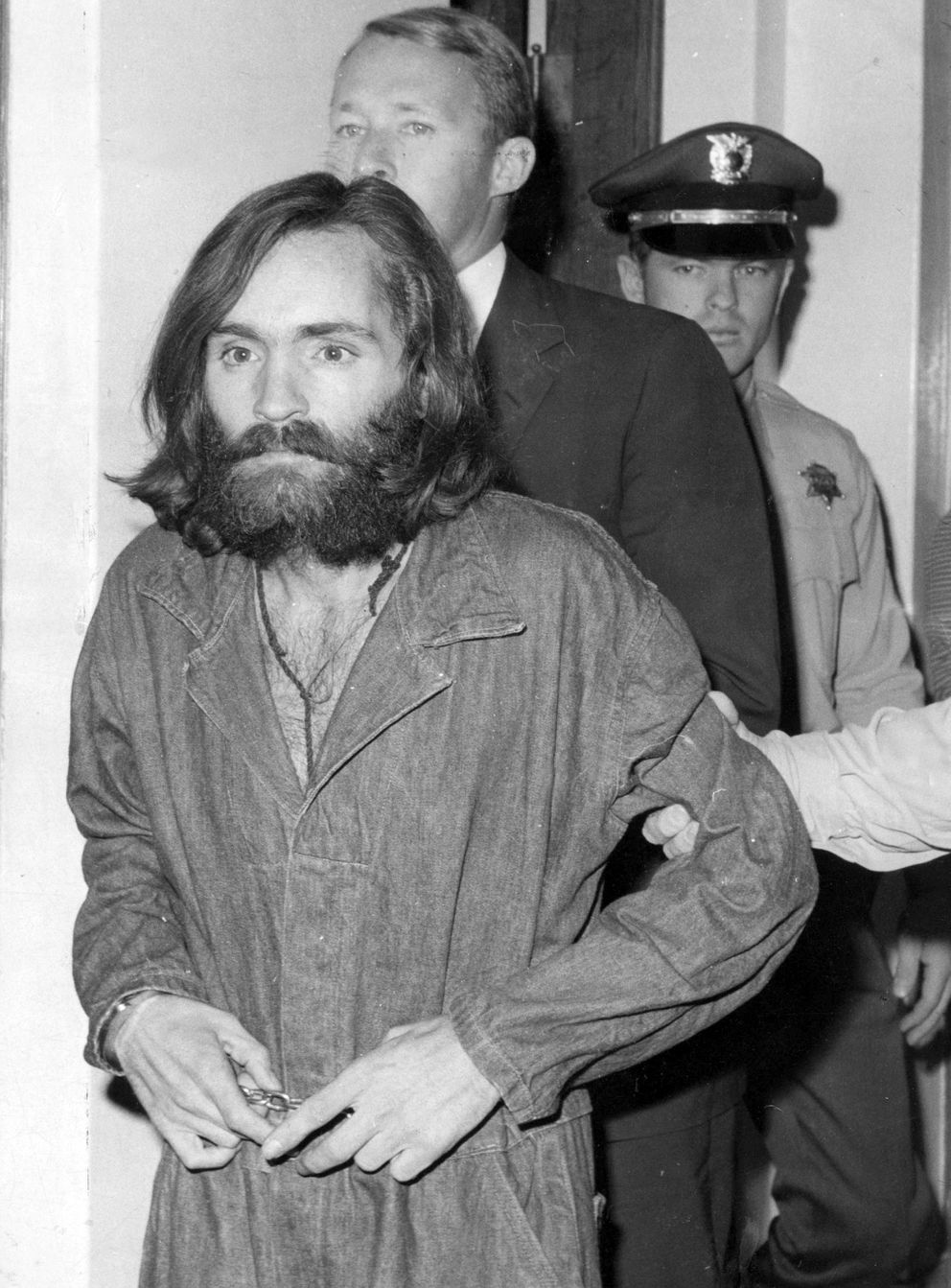 A 1969 photo of Charles Manson. (Los Angeles Times/TNS)