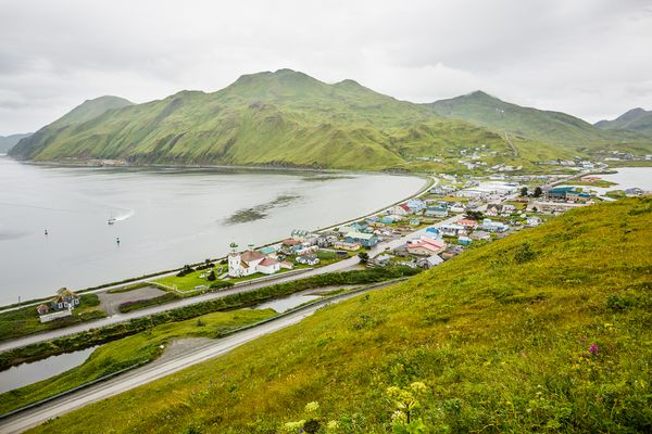 Unalaska on Aug. 31, 2012. (Photo by Loren Holmes / ADN)