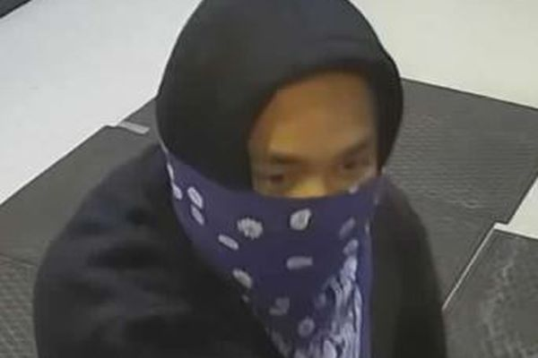 An unidentified man suspected of robbery on Oct. 1, 2018. (Anchorage Police Department)