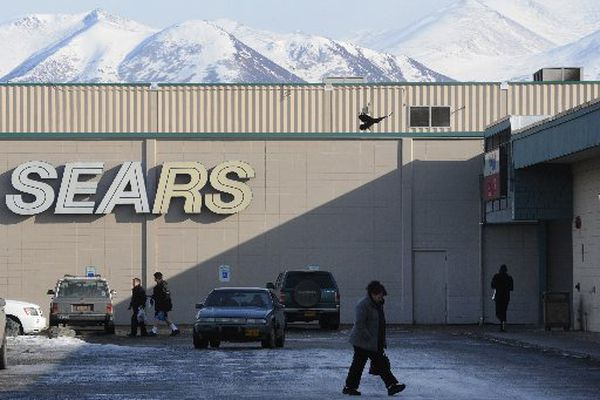 The Mall at Sears before the renovations done for the Nordstrom Rack store. (Bill Roth / ADN 2014)