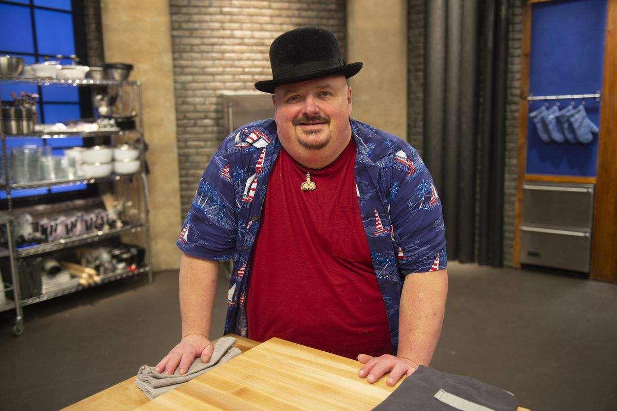 "Contestant Charles ""Chaz"" Oakley, as seen on Worst Cooks In America, Season 15."