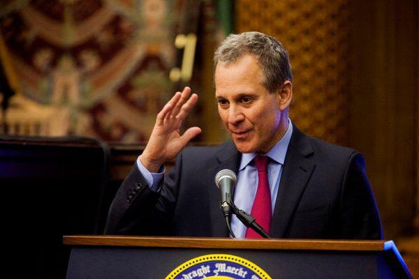 New York Attorney General Eric Schneiderman. (New York Times)