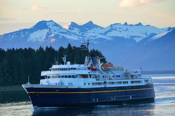 The M/V Taku. (Alaska Department of Transportation and Public Facilities)