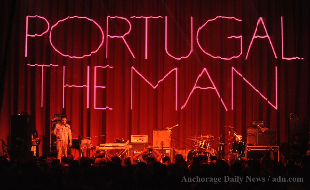 Portugal. The Man plays at the Bear Tooth Theatrepub in 2012. (Marc Lester / ADN archive 2012)