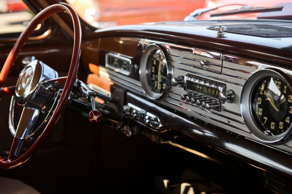 The dashboard of a Hudson Commodore. (Marc Lester / ADN)