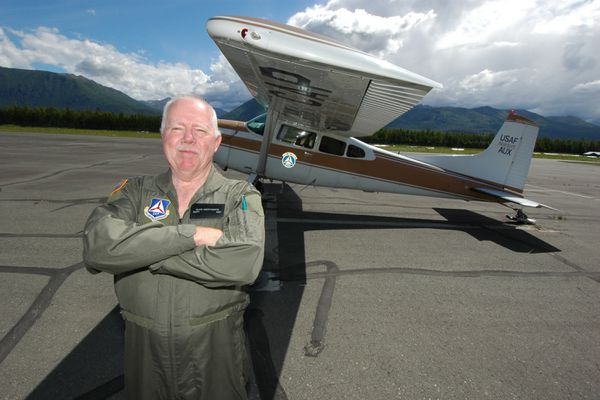Glen Morthorpe, a flight instructor at Take Flight Alaska, says restrictions placed on flight schools for training foreign pilots are overbearing and have hurt the industry. Photographed in 2006 (Photo by Rob Stapleton / AJOC)