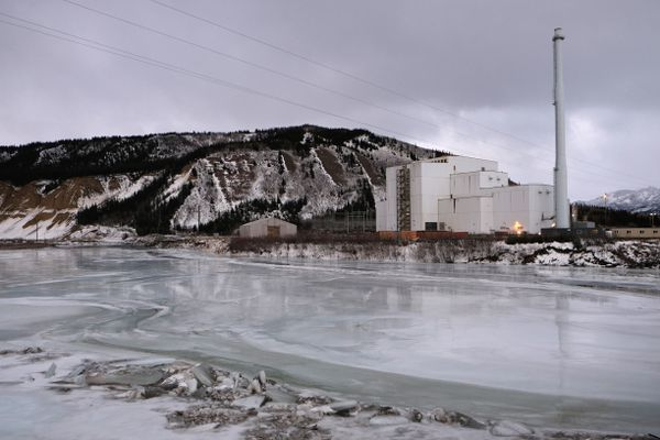 A Feb. 16, 2015 file photo shows Golden Valley Electric Association's Healy Power Plant. The U.S. Supreme Court Monday struck down the federal Environmental Protection Agency's new rule regulating power plant emissions of mercury and other hazardous air pollutants.