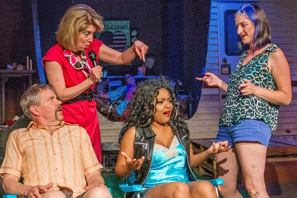 Mark Robokoff as Norbert, Gigi Lynch as Betty, ShaeLisa Anderson as Pippi and Sara Jean Larsson Greenberg as Pickles in