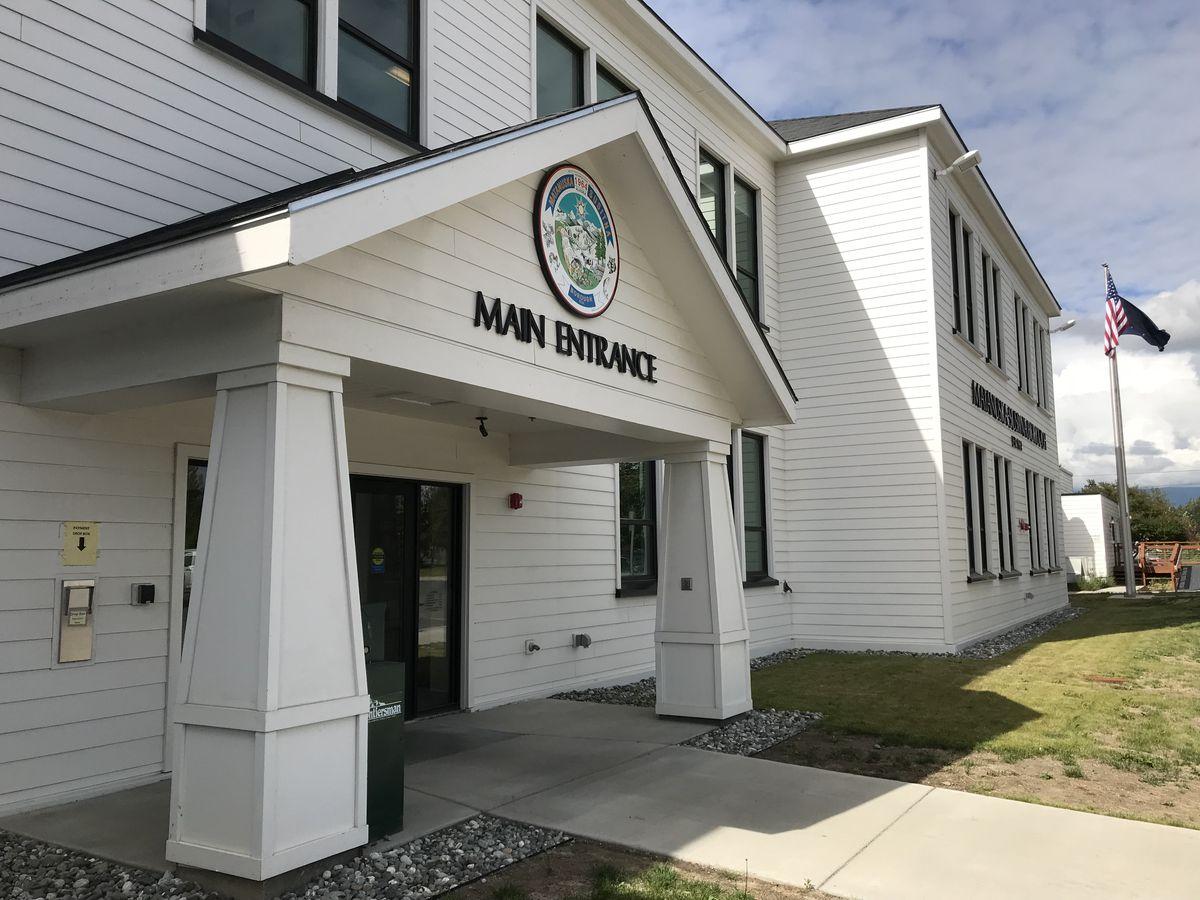 Matanuska-Susitna Borough office. July 30, 2018. (Bill Roth / ADN)