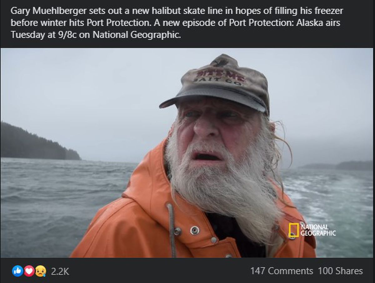 Gary Muehlberger, pictured here in a screengrab made from a