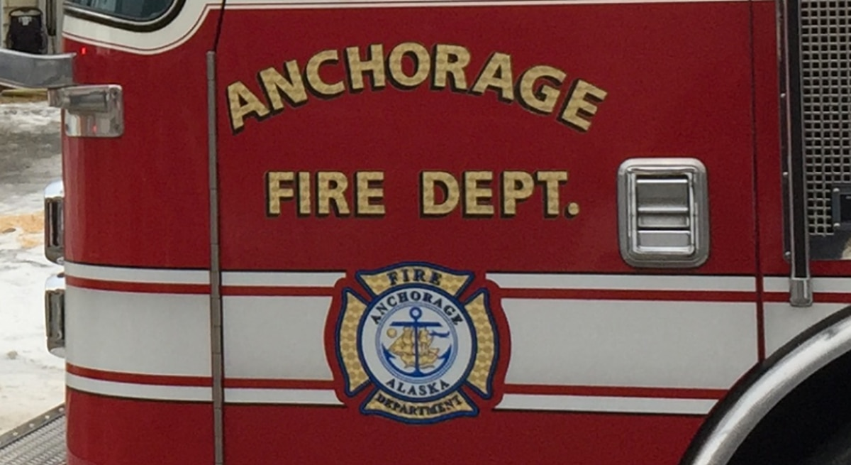 Anchorage Fire Department responding to condo fire in Eagle River