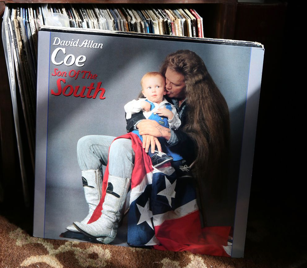 Tyler Mahan Coe was featured on the cover of his father's 1986 album 'Son of the South. ' Lila Hempel-Edgers