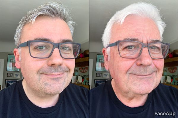 FaceApp, which uses artificial intelligence to