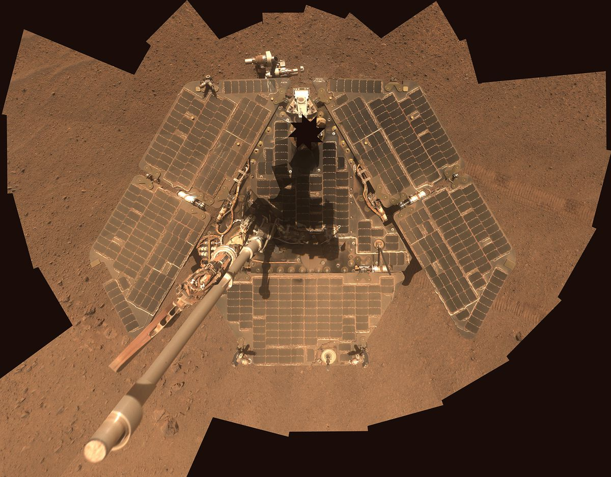 NASA's Mars Exploration Rover Opportunity has set a new off-Earth, off-road distance record, logging just over 25 miles on the surface of the Red Planet. REUTERS/NASA/JPL-Caltech/Cornell Univ./Arizona State University/Handout