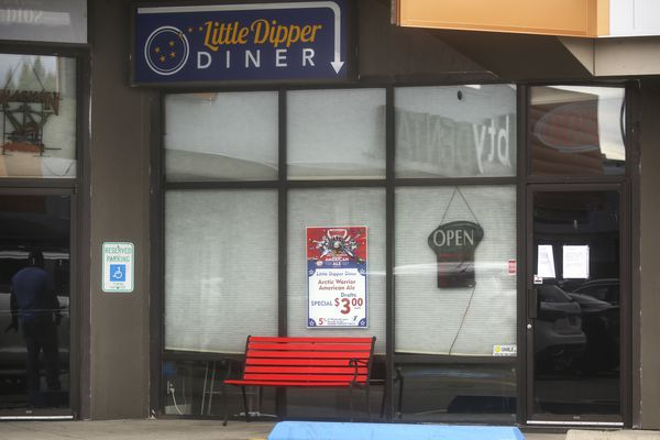 The Little Dipper Diner in Anchorage on Aug. 10, 2020. (Emily Mesner / ADN)