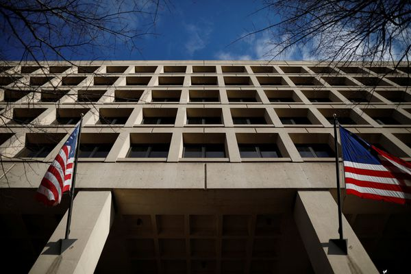 The J. Edgar Hoover Federal Bureau of Investigation Building is seen in Washington, U.S., February 2, 2018. REUTERS/Aaron P. Bernstein