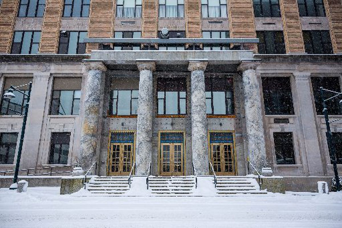 The Alaska state Capitol at Juneau. (Loren Holmes / ADN archive 2014)