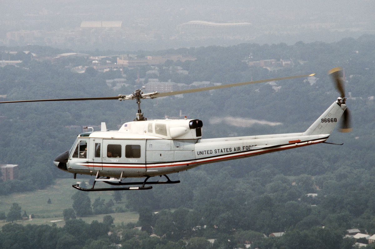 An Air Force UH-1N Iroquois helicopter (U.S. Air Force photo)