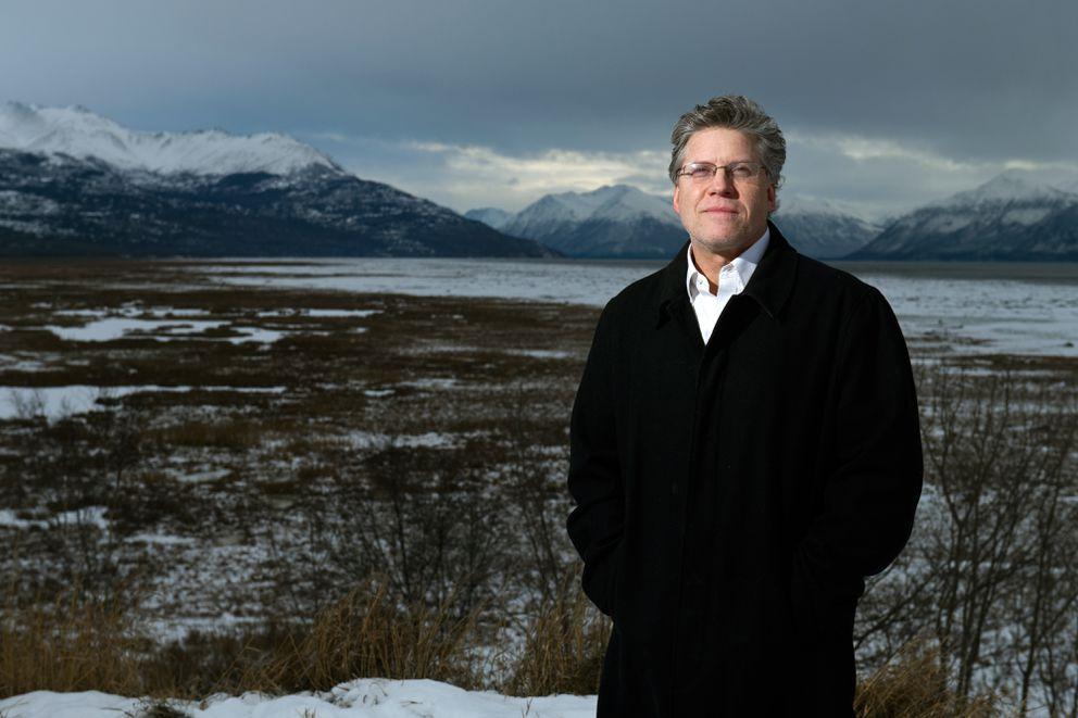Grant Cochran is the artistic director and conductor of the Anchorage Concert Chorus. Photographed on November 23, 2020. (Marc Lester / ADN)