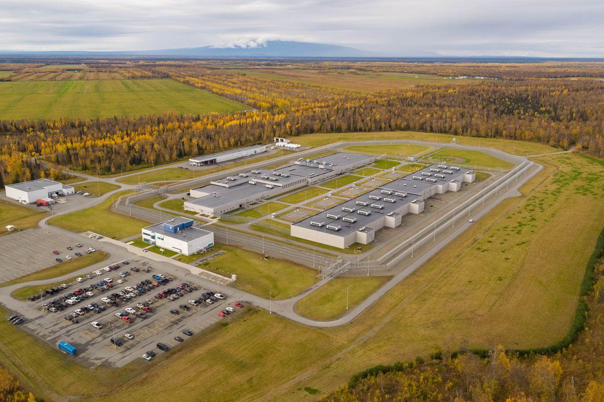 Goose Creek Correctional Center Friday, Sept. 29, 2017. (Loren Holmes / Alaska Dispatch News)