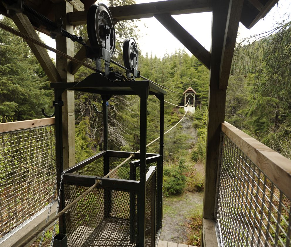 Person dies in fall at Girdwood hand tram