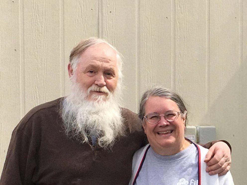 Dorrance Collins and Faith Myers. (Courtesy Faith Myers)