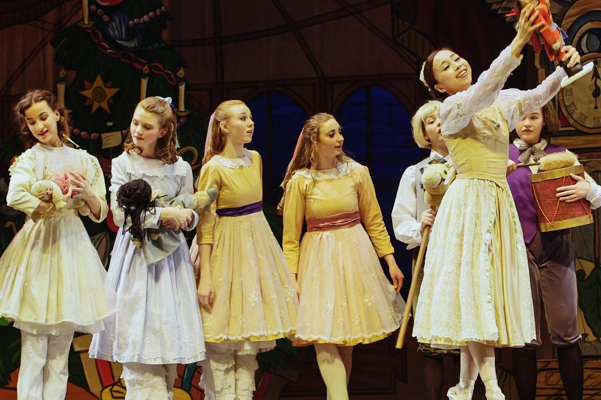 Dancers with Alaska Dance Theater in an Anchorage production of The Nutcracker, 2014.